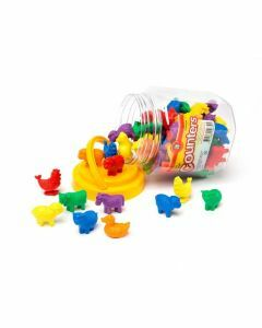 Farm Animal Counters Jar of 72 (Ages 3+)