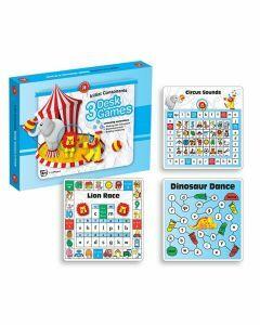 Initial Consonants Desk Games Pack of 3 Games