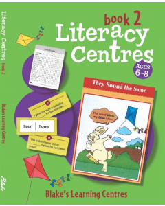 Blake's Learning Centres Literacy Centres Book 2 Lower Primary (Temporarily out of stock)