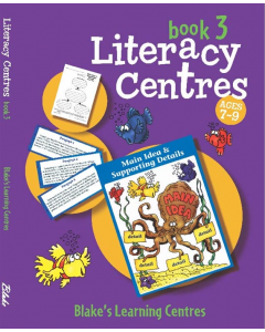 Blake's Learning Centres Literacy Centres Book 3 Lower Primary