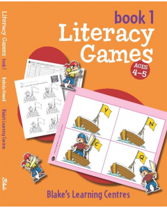 Blake's Learning Centres Literacy Games Book 1 Lower Primary
