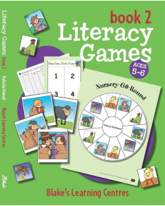 Blake's Learning Centres Literacy Games Book 2 Lower Primary