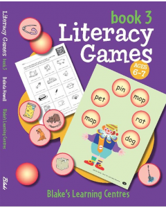 Blake's Learning Centres Literacy Games Book 3 Lower Primary
