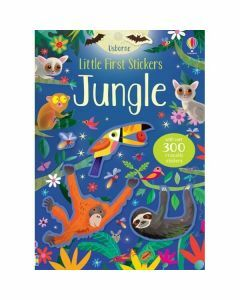 Usborne Little First Stickers - Jungle (Ages 3+)