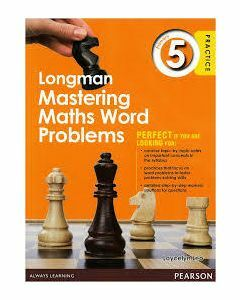 Longman Mastering Maths Word Problems Primary 5