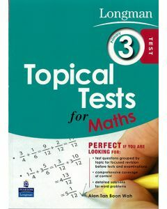 Longman Topical Tests for Maths Primary 3
