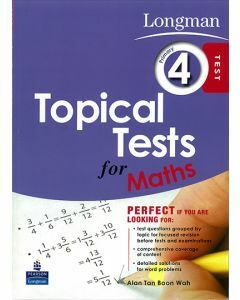 Longman Topical Tests for Maths Primary 4
