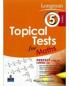 Longman Topical Tests for Maths Primary 5