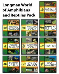 Longman World of Amphibians and Reptiles Pack