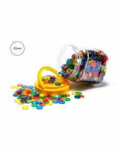 Transparent Counters Jar of 1000 (Ages 3+)