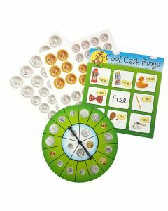 Cool Cash Bingo (Ages 5+)