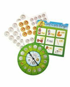 Cool Cash Bingo (Ages 5+)