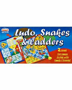 Ludo, Snakes & Ladders (Ages 3+)
