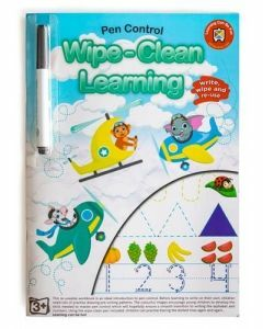 Wipe-Clean Learning - Pen Control (Ages 3+)