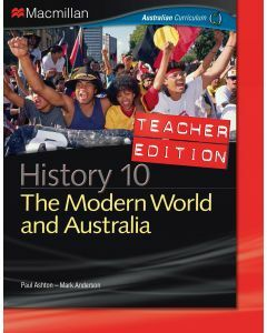 Macmillan History 10 for Australian Curriculum Teacher Edition (Available for Order)