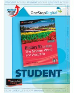 Macmillan History 10 NSW Australian Curriculum Digital (Available for Order)