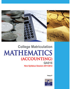 Mathematics for Accounting Semester 1