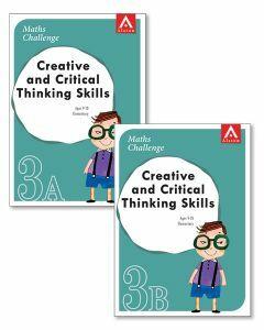 Maths Challenge Creative & Critical Thinking Skills Level 3 Bundle