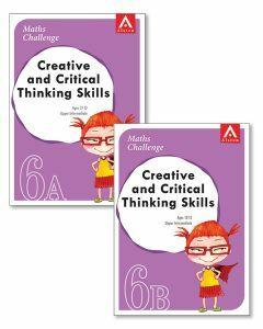 Maths Challenge Creative & Critical Thinking Skills Level 6 Upper Intermediate Bundle