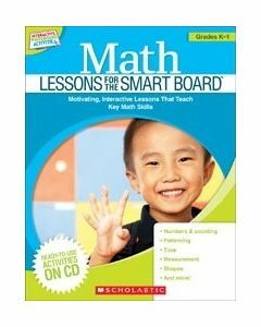 Maths Lessons for the Smart Board (K-1)