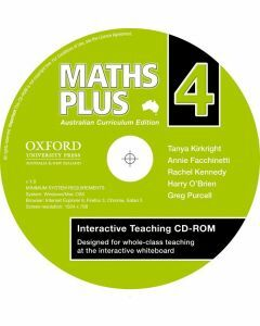 Maths Plus Australian Curriculum  Edition Interactive Teaching CD-Rom 4 (Available to order)