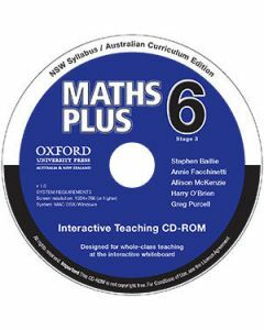 Maths Plus NSW Australian Curriculum  Edition Interactive Teaching CD-Rom 6 (Available to Order)