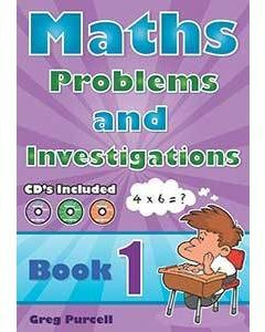 Maths Problems & Investigations Book 1 + CD