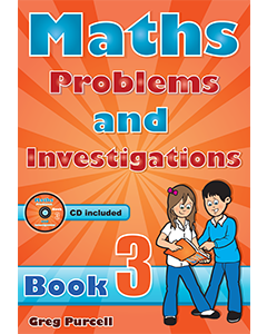 Maths Problems & Investigations Book 3 + CD