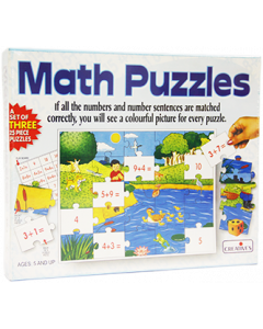 Maths Puzzles: Addition (Ages 5 and up)