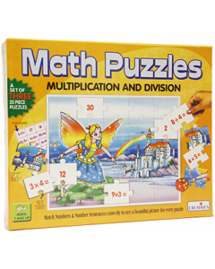 Maths Puzzles: Multiplication and Division (Ages 7+)