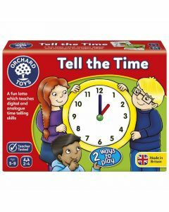 Orchard Toys Tell The Time Lotto (Ages 5 to 9)