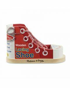 Melissa & Doug Wooden Lacing Shoe (Ages 3+)