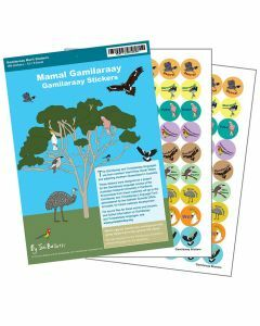 Gamilaraay Merit Stickers (1 pack)