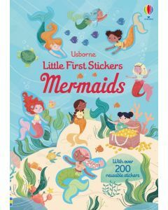 Usborne Little First Stickers - Mermaids (Ages 3+)