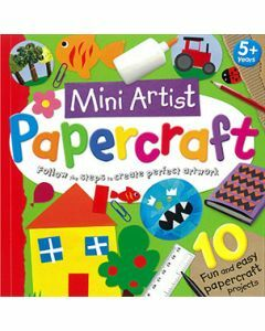 Mini Artist Papercraft (Ages 5+)