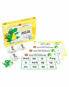 Multiplication Bingo: Beat the Crocodile