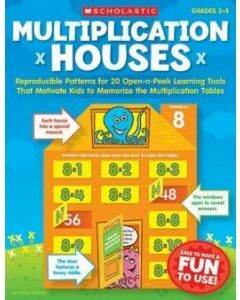 Multiplication Houses (Grades 2 to 5)