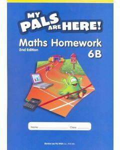 My Pals are Here Maths Homework 6B (2E)