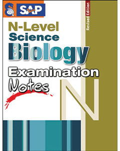 N Level Science Biology Examination Notes