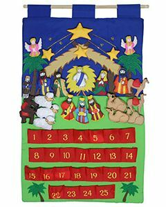 Nativity Advent Wall Hanging