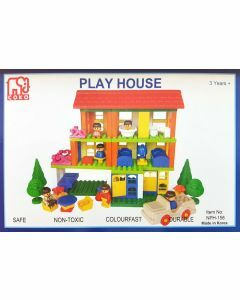 Coko Play House 156 pc set (Ages 3+)