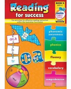 Reading for Success Book 4 (Ages 4-7)