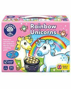 Rainbow Unicorns Matching Game (Ages 3-5)
