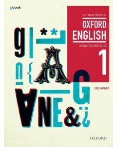 Oxford English 1 Knowledge and Skills AC Student Book + obook assess (Available to Order)