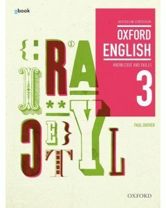 Oxford English 3 Knowledge and Skills Australian Curriculum Student Book + obk (Available to Order)