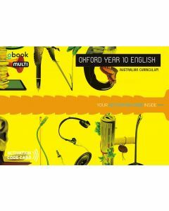 Oxford English Year 10 Australian Curriculum obook MULTI (Available to Order)