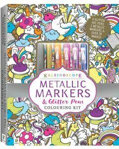 Kaleidoscope Metallic Colouring Kit