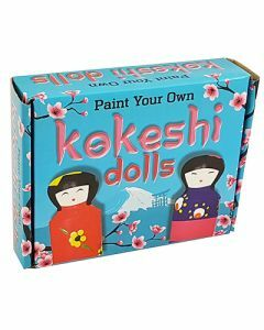 Paint Your Own Kokeshi Dolls (Ages 5+)