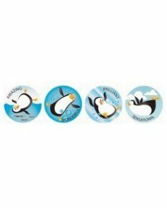 Playful Penguins Merit Stickers (ms092)