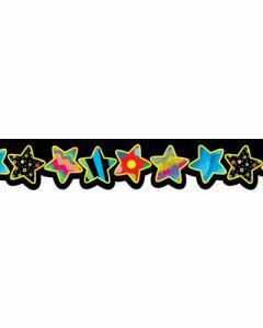 Poppin Patterns Star Border